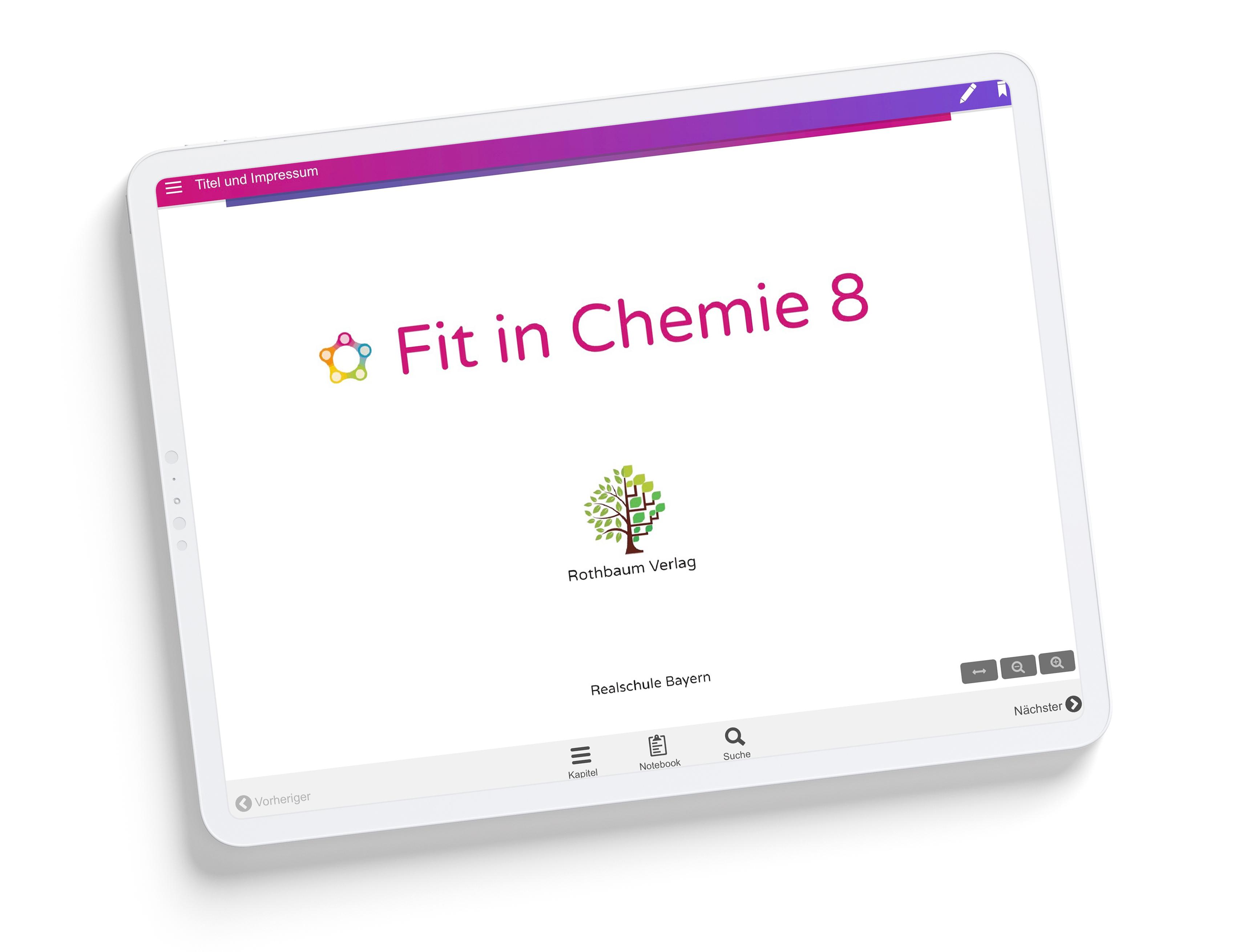 Fit in Chemie 8 [eBook - Einzellizenz]